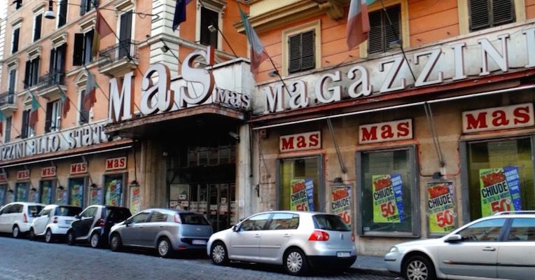 The Show MAS Go On: Absolutely fabulous doc on MAS, Rome's fashion emporium for 'everyone'