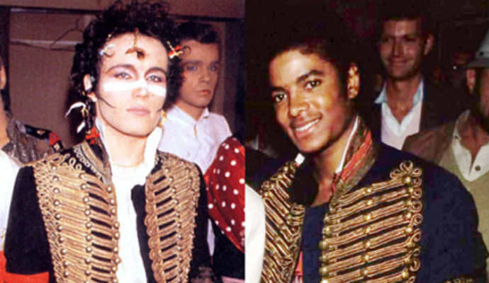 Adam Ant meets Native Americans and gets a late night phone call from Michael Jackson
