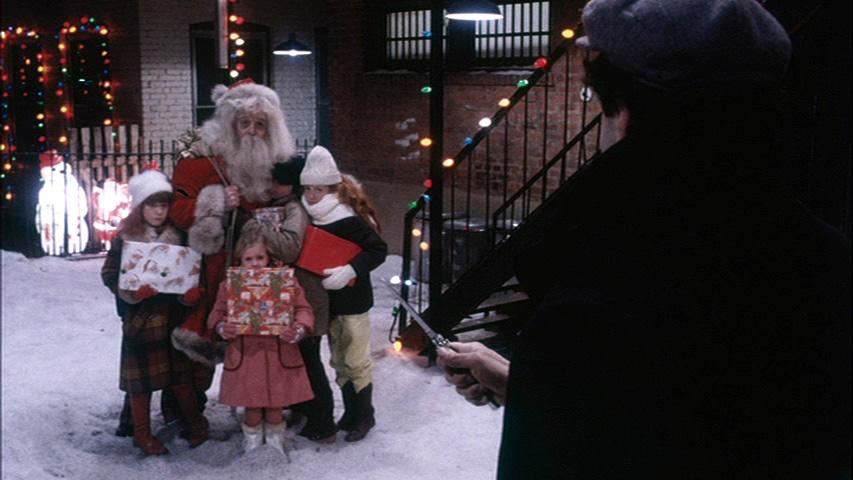 Kids protecting Santa
