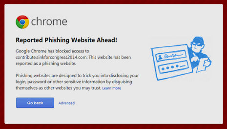 Google slaps 'reported phishing' warning on idiotic Republican scam website