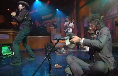 Yoko Ono and Wayne Coyne