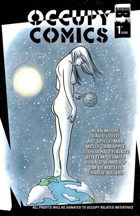 'Occupy Comics' featuring work by Alan Moore, Douglas Rushkoff, Laurie Penny, Amanda Palmer and more