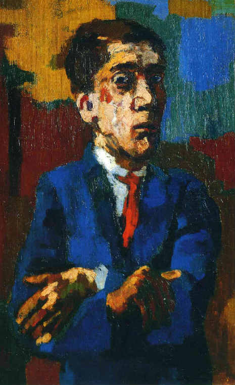 oskar_kokoschka_self_portrait