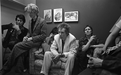 PiL backstage