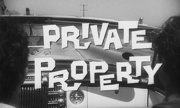 Private Property - title card