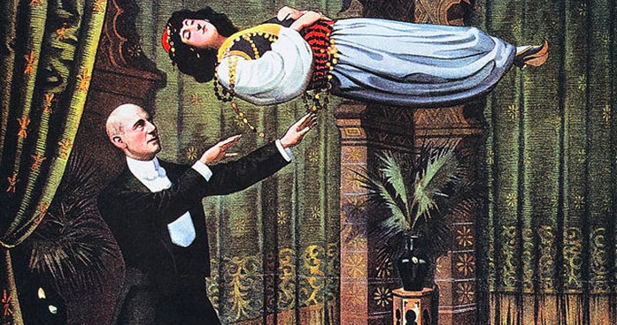 Stunning occult posters of magicians from many decades ago