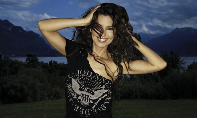 Shania Is a Punk Rocker: Celebrities wearing Ramones t-shirts
