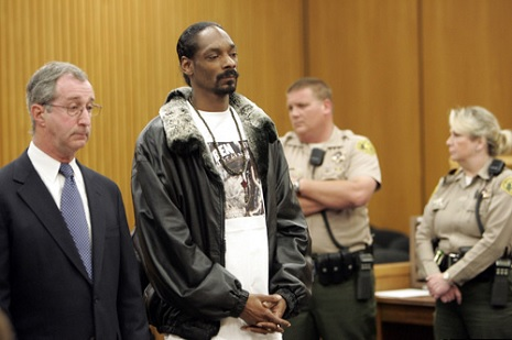 Snoop and lawyer Donald Etra