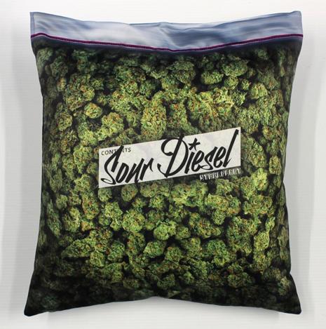 Sour Diesel pillowcase