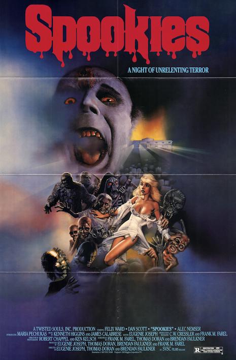 Spookies poster