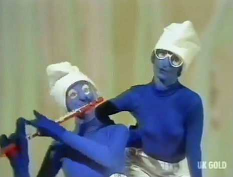 Odd moments in TV history: England's 'greatest' pedophile introduces 'The Smurf Song'