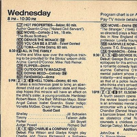 TV GUIDE 1985
