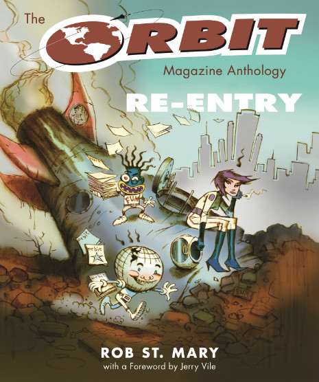 Fabulous Cover Art for The Orbit Magazine Anthology
