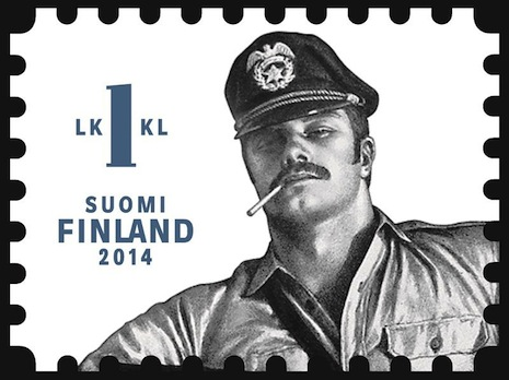 Finland to release Tom of Finland postage stamps