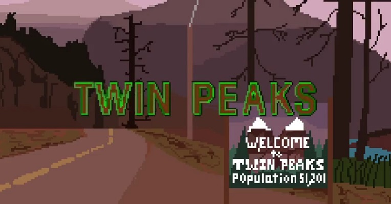 'Twin Peaks' opening credits in glorious 8-bit