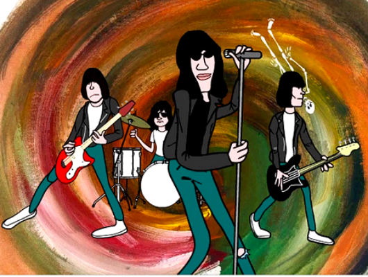 Eye-popping Bad Brains and Ramones' cartoons that will rock your world