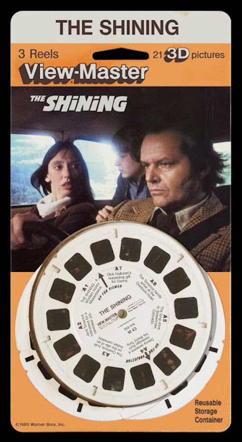 Fictional View-Master reels for 'The Shining,' 'The Warriors,' 'Taxi Driver,' & more!