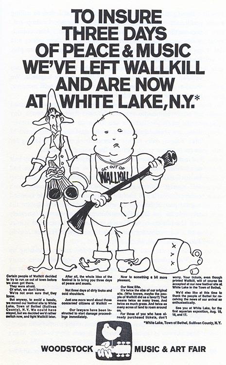 Woodstock Wallkill Ad