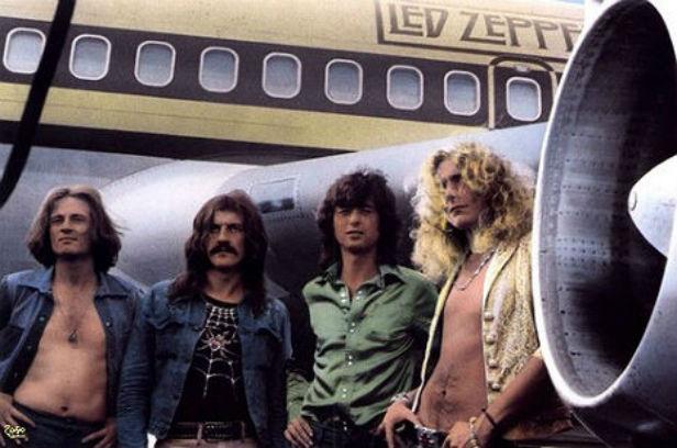 Night Flight: Inside Led Zeppelin's private jet, 1973