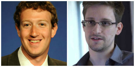 EDWARD SNOWDEN IS MARK ZUCKERBERG'S COUSIN… (or something like that?)
