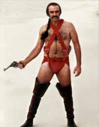 'Zardoz': Stills of Sean Connery and Charlotte Rampling from John Boorman's neglected masterpiece
