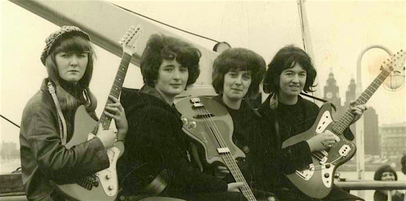 Meet The Liverbirds: The all-girl Beatles who once toured with the Kinks and Rolling Stones