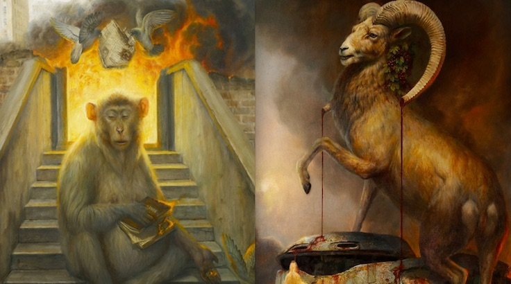 Animal Planet: The beautiful, disturbing and surreal paintings of Martin Wittfooth