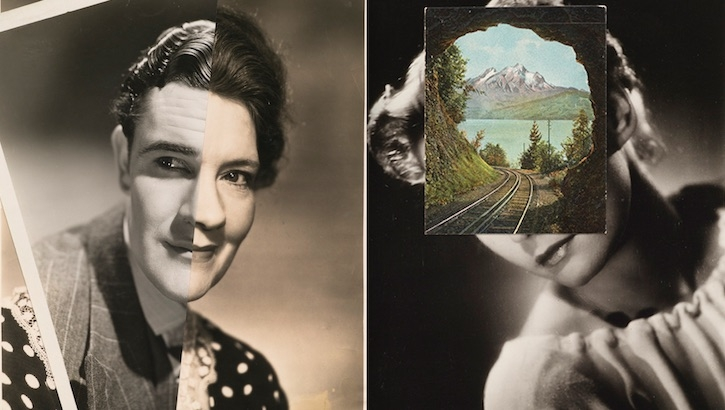 Head Shots: Surreal collages by John Stezaker