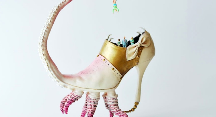 'Do you have this octopus in my size?' The surreal shoes sculptures of Costa Magarakis