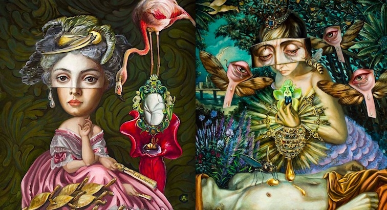 The Artist as Frankenstein 'piecing together the sublime': The paintings of Carrie Ann Baade