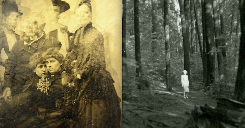 Ghosts, monstrous faces & strange creatures: The eerie beauty of bad vintage photographs