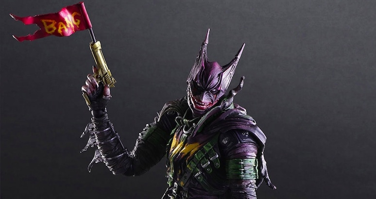 Holy Mashup Bat-fans!: What if Batman and The Joker got genetically spliced?
