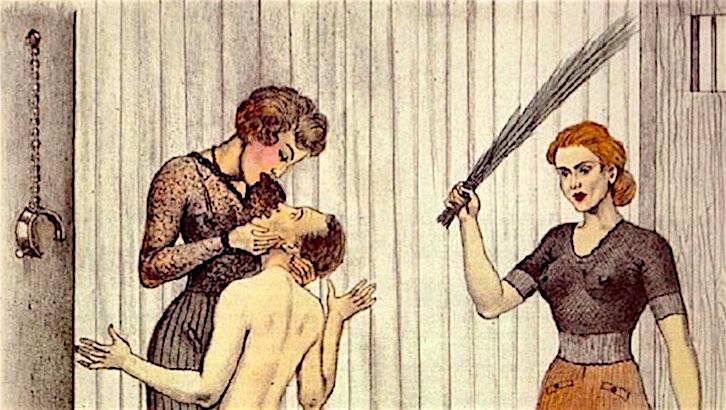 BDSM, forced feminization & a little light torture: The erotic art of Bernard Montorgueil VERY NSFW