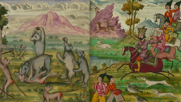 Fantastic Beasts: Fabulous illustrations from classic Persian book of fables