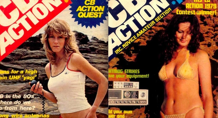 CB Action: (Apparently) CB radio wasn't just for sad, lonely middle-aged men?