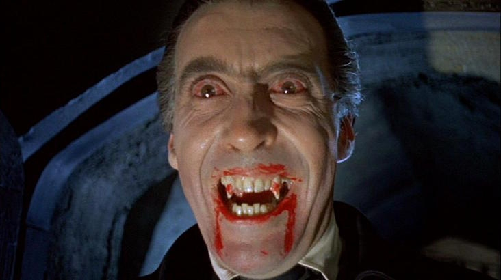 The blood dripped from Dracula's fangs: The golden age of Hammer Horror movie posters