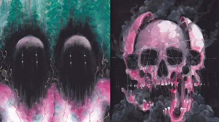 Strangely beautiful (but oddly disturbing) paintings of Scary Mutants and Super Beasts