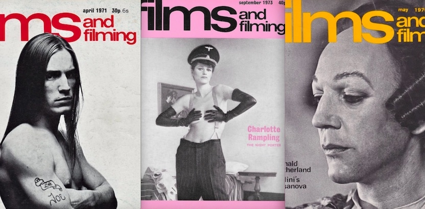 Cult Movies and Big Screen Idols: Covers to 'Films and Filming' magazine