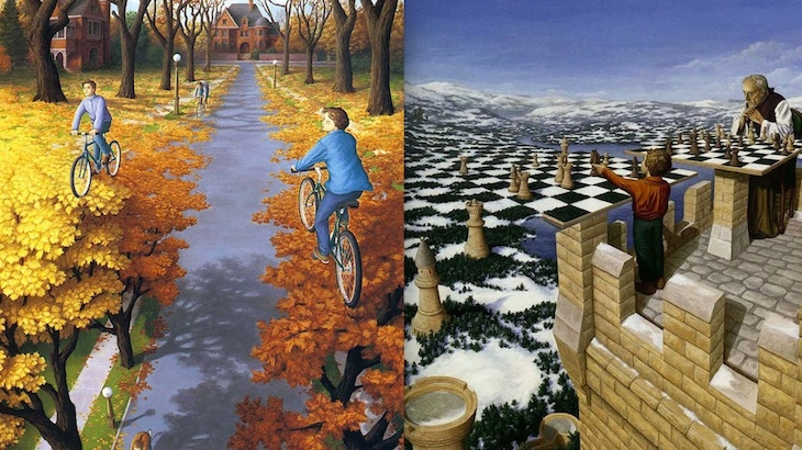 A window into another world: The Magical Realist paintings of Rob Gonsalves