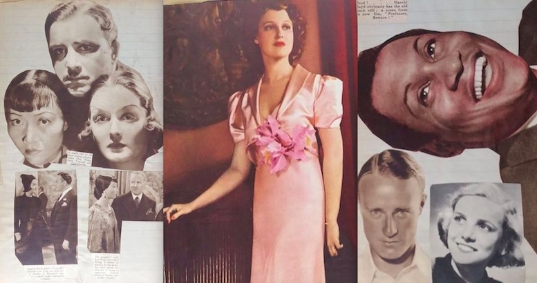 Star-struck: Fabulous pages from a scrapbook of Hollywood's Golden Age