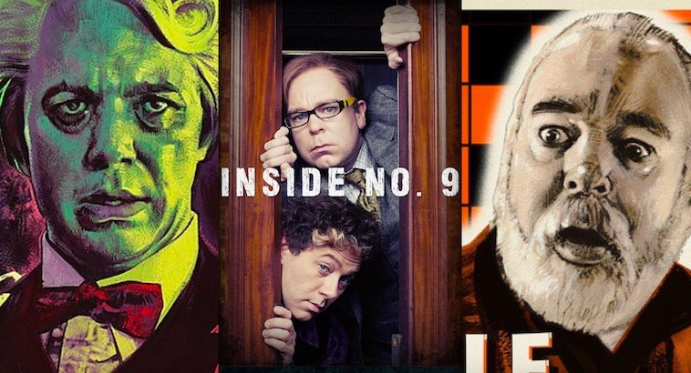 Perfect posters for the genius comedy-horror TV series 'Inside No. 9'