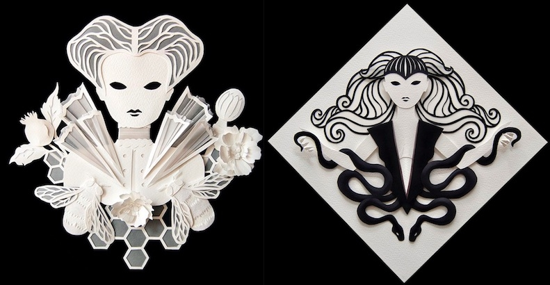 Paper Cuts: The astonishingly beautiful cut-out artwork of Ivonne Carley