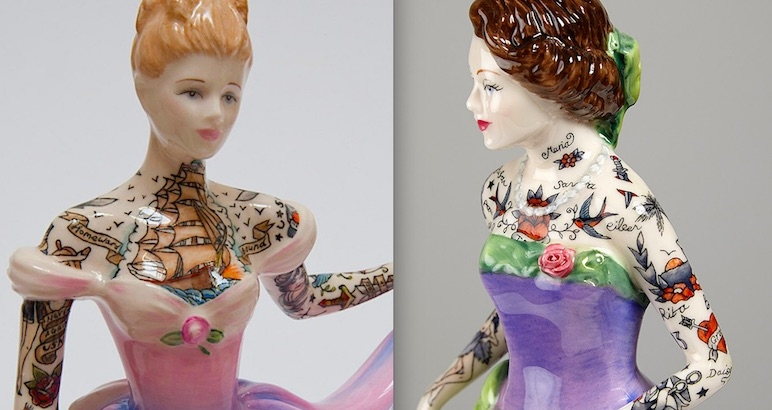 Painted Ladies and Broken Figurines: The dark feminist art of Jessica Harrison