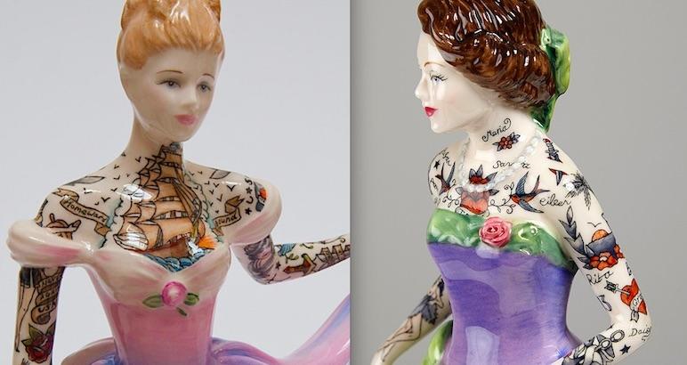 Painted Ladies and Broken Figurines: The dark feminist art of Jessica Harrison