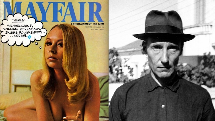 William Burroughs: Scans of his porn mag articles