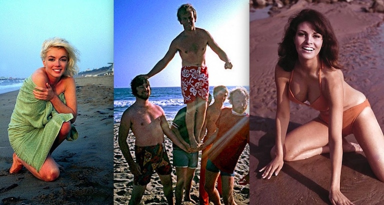 Fun in the Sun: Pop culture icons catching some waves and a tan