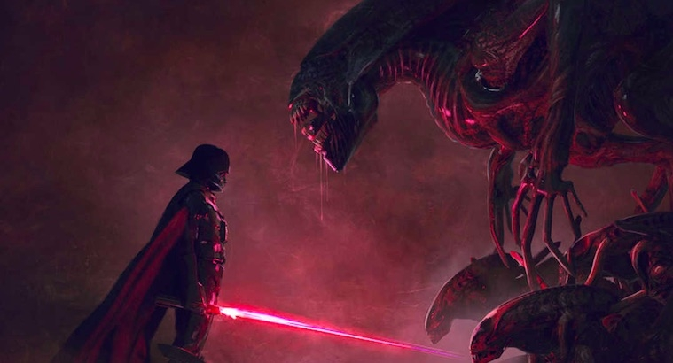 'Star Wars' vs. 'Aliens': What's not to like?