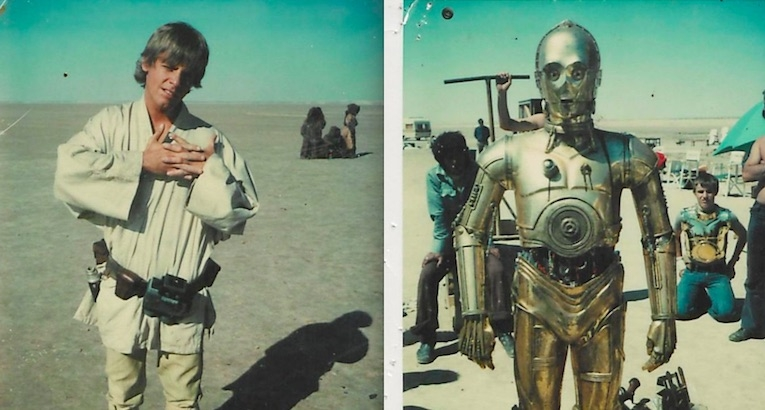 Polaroids from 'Star Wars Episode IV: A New Hope'