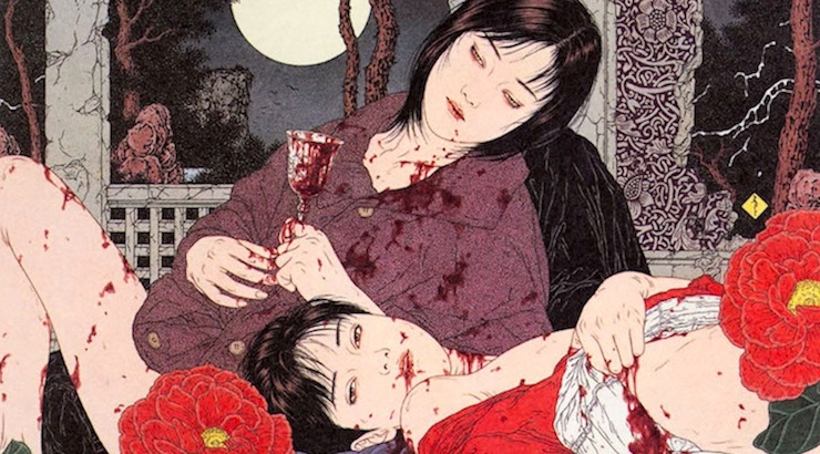 Death is My Lover: The Decadent Erotic Art of Takato Yamamoto (NSFW)