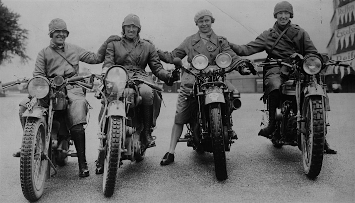 Girls on Motorcycles: Retro photos of pioneering biker chicks